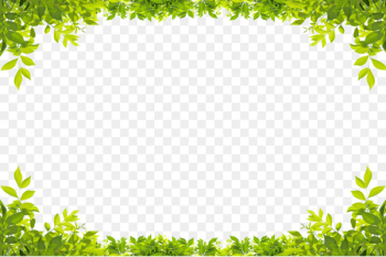 Stock photography Leaf Green Royalty-free Shutterstock - Green leaves border  png image transparent background