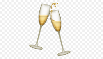 Champagne glass Emojipedia Unicode Consortium - toasting  png image transparent background