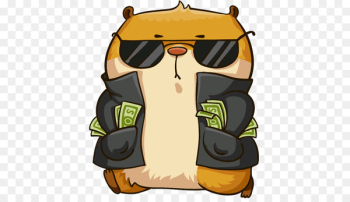 Hamster Sticker Telegram VKontakte Messaging apps - Winner yg  png image transparent background