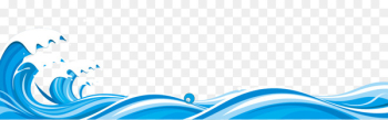 Blue Wind wave - Waves waves  png image transparent background