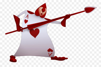 Alice's Adventures in Wonderland Queen of Hearts Playing card - alice in wonderland  png image transparent background