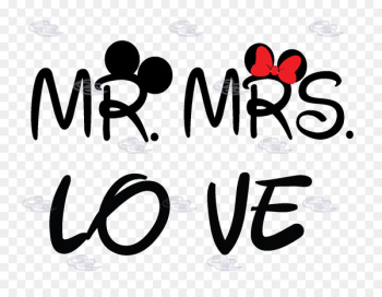 Mickey Mouse Minnie Mouse T-shirt Mrs. The Walt Disney Company - Mr  png image transparent background