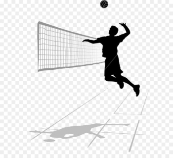 Volleyball spiking Roundnet Clip art - Volleyball PNG Transparent Image  png image transparent background
