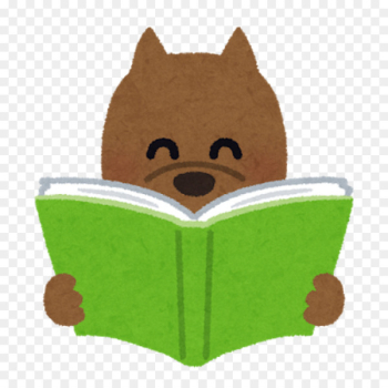 Hardcover, Book, Reading, Green, Cartoon PNG png image transparent background