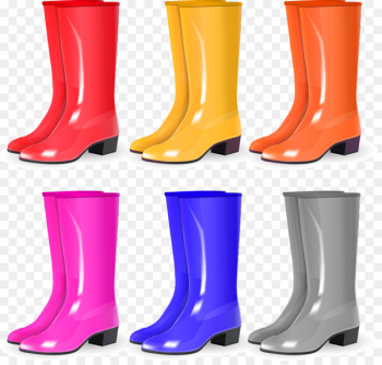 Wellington boot Shoe Cowboy boot Natural rubber - Vector rubber boots  png image transparent background