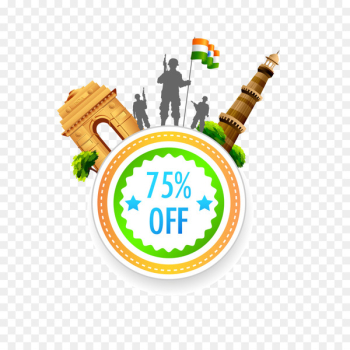 Indian independence movement Indian Independence Day Clip art - Personality tag download  png image transparent background