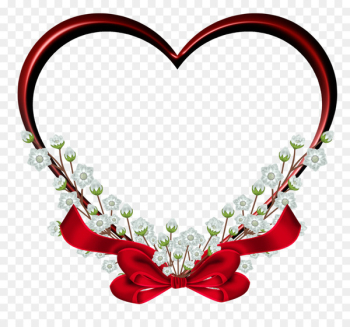 Picture frame Heart Clip art - Red Heart PNG Image  png image transparent background