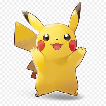 Pikachu, Nintendo Switch, Video Games, Yellow, Cartoon PNG png image transparent background