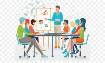 Business meeting report Fig.  png image transparent background