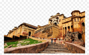 Amer Fort Tourist attraction Fukei - India Amber Fort View Triple  png image transparent background