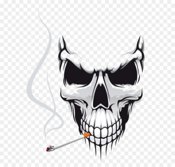 Skull Euclidean vector Stock photography Royalty-free - Halloween  png image transparent background