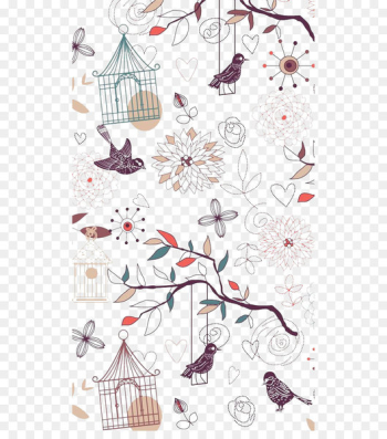 iPhone 6 Plus iPhone 5s iOS Wallpaper - Bird Cage  png image transparent background