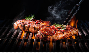 Barbecue grill Chophouse restaurant Ribs Grilling Meat - grill  png image transparent background