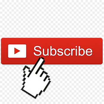 YouTube Play Buttons Video Television channel Download - subcribe icon  png image transparent background