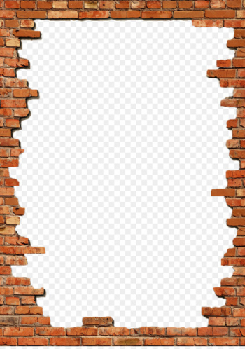 Brick Picture Frames Wall Stock photography - Bricks Frame Png  png image transparent background