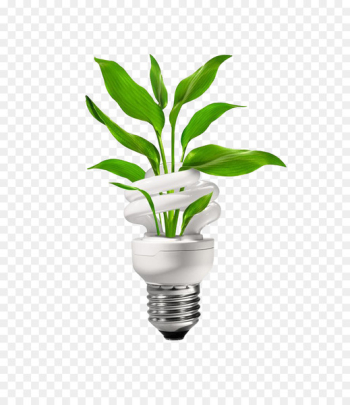 Energy conservation Energy engineering Clip art - Green energy-saving bulbs  png image transparent background