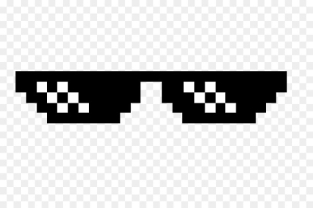 Sunglasses Thug Life Clip art - cool  png image transparent background