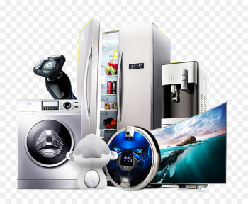Home appliance Icon - Refrigerators, air conditioners, washing machines, household appliances  png image transparent background