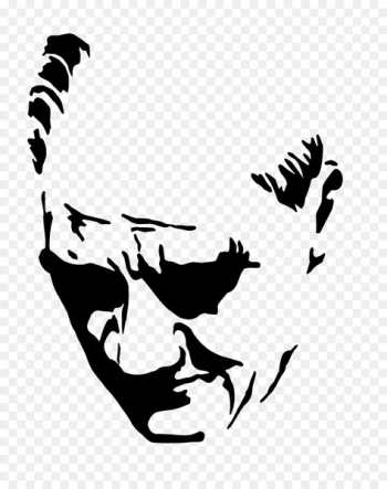 Nutuk Atatürk Silüeti Ankara Republic Day Silhouette - mustafa kemal ataturk  png image transparent background