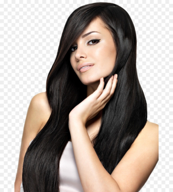 Artificial hair integrations Black hair Hair coloring - hair  png image transparent background