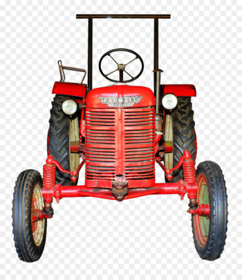 Farmall, John Deere, Tractor, Land Vehicle, Vehicle PNG png image transparent background