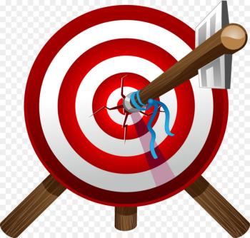 Habit Accuracy and precision Idea Organization Thought - Arrows target archery target heart  png image transparent background