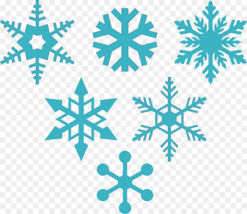 Snowflake Silhouette Stencil - snowflakes  png image transparent background