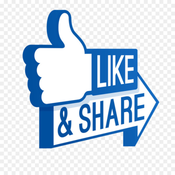 Like button Facebook Social media Computer Icons Clip art - Share  png image transparent background