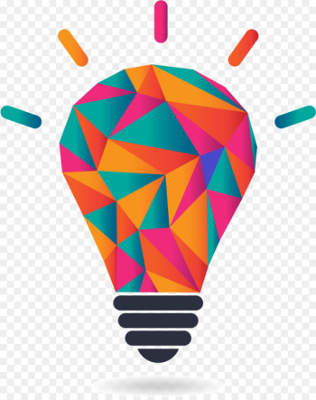 Startup company Entrepreneurship Idea Lean startup Innovation - Vector colorful light bulb  png image transparent background