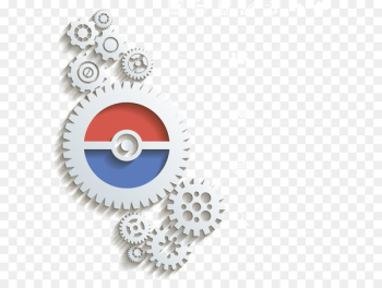 Gear manufacturing Infographic - PPT element,information  png image transparent background