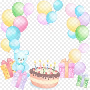 Birthday party png image transparent background