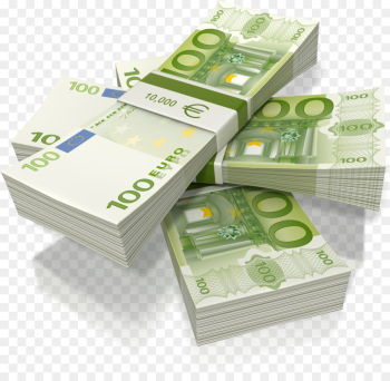 100 Euro Note, Euro, 50 Euro Note, Cash, Money PNG png image transparent background