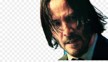 Keanu Reeves, John Wick, Trailer, Face, Head PNG png image transparent background