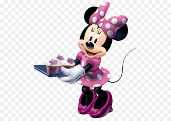 Minnie Mouse Mickey Mouse Cooking Clip art - Minnie Mouse ... png image transparent background