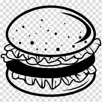 Bun, burger, grilled, hamburger, meat, sandwich, seed icon png image transparent background