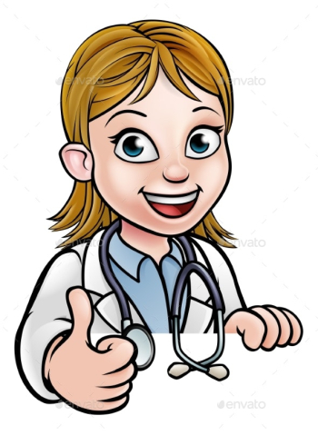 Doctor Cartoon Character Thumbs Up by Krisdog | GraphicRiver png image transparent background