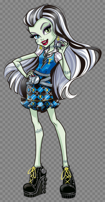 Frankie Stein | Monster High Wiki | FANDOM powered by Wikia png image transparent background