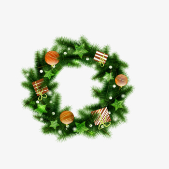 Green Christmas Tree Circle, Tree Clipart, Circle Clipart, Green ... png image transparent background