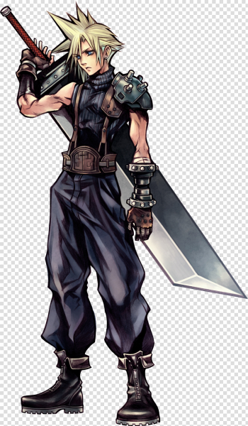 Cloud Strife Free PNG Image png image transparent background
