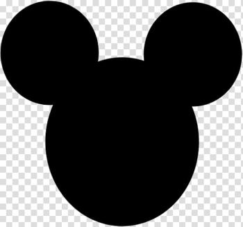 Mickey Mouse Minnie Mouse Silhouette , express template ... png image transparent background
