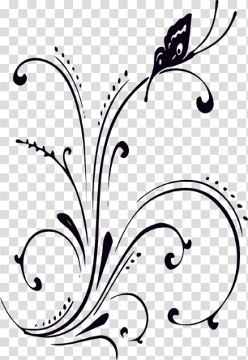 Butterfly clipart png black and white 3 » PNG Image png image transparent background