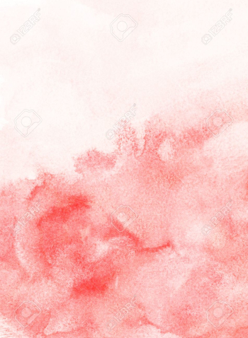 Light Red Painted Watercolor Background Stock Photo, Picture And ... png image transparent background
