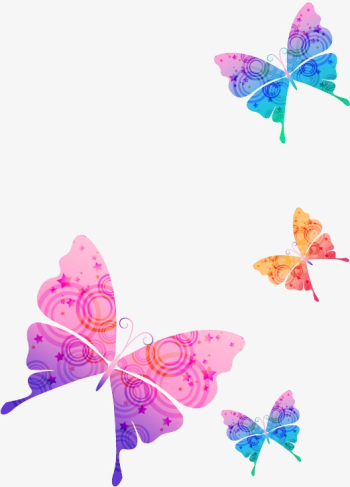 Beautiful Purple Butterfly Silhouette, Purple, Beautiful ... png image transparent background