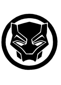 Black Panther Logo Vinyl Decal Helmet Sticker FREE SHIPPING window ... png image transparent background