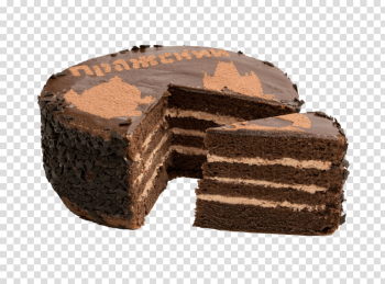 Chocolate Cake PNG Picture png image transparent background