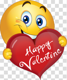Happy Valentine Boy Smiley Emoticon Clipart | i2Clipart - Royalty ... png image transparent background