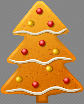 Christmas Cookie Tree PNG Clipart Image | Gallery Yopriceville ... png image transparent background