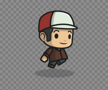 Hat Boy – Adventure Character | Game Art Partners png image transparent background