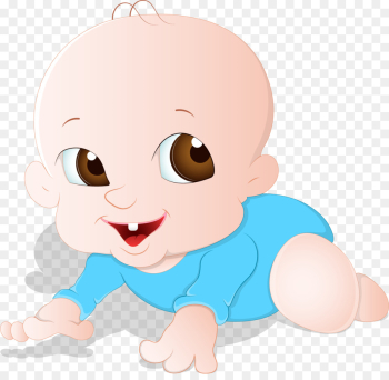 Infant Face Child Clip art - Cartoon baby tummy png download ... png image transparent background