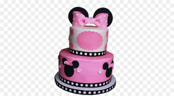 Birthday cake Minnie Mouse Cupcake - First birthday png download ... png image transparent background